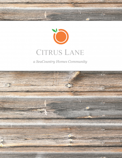 Check Out The Citrus Lane Brochure